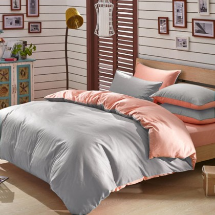 Modal Reversible Duvet Cover Set