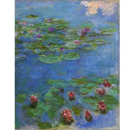 Water Lilies Claude Monet Canvas Print