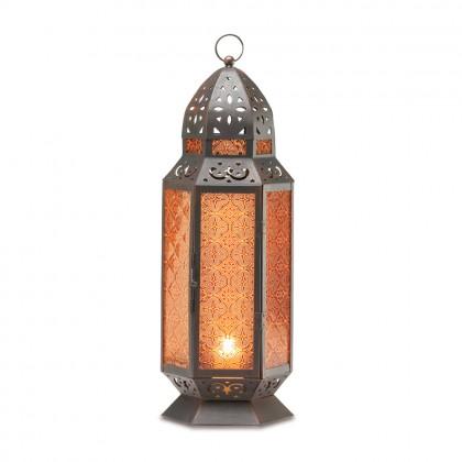 "Moroccan Candle Lantern 19"""