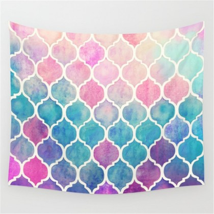 Moroccan Gradient Tapestry