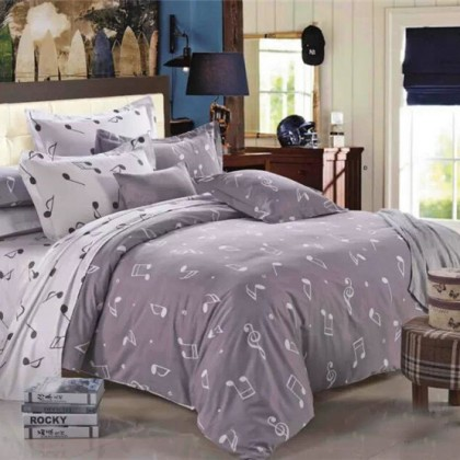 Music Note Queen Bedding Set