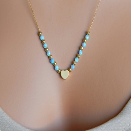 Lariat Turqoise Necklace