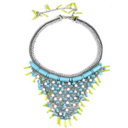 Vivid Blue Necklace