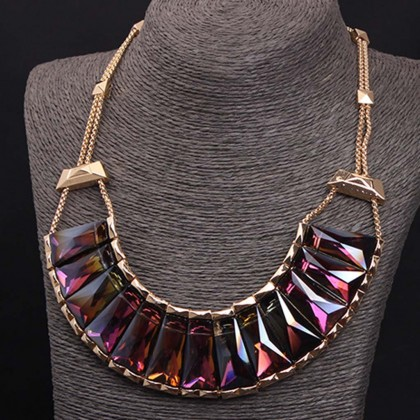 Mystic Purple Necklace