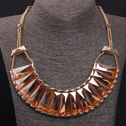 Mystic Orange Necklace