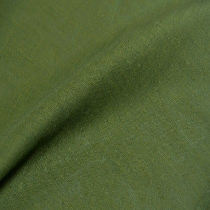 Custom Made Horizon Ruched Bedding Set, Dark Olive