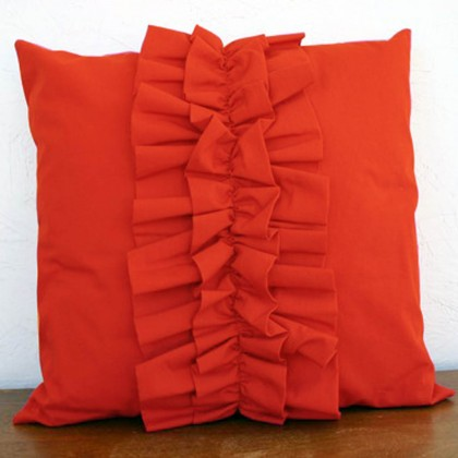 Lovely Chic Cushion Cover - Orange