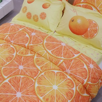 Fruit Orange Duvet Cover Set