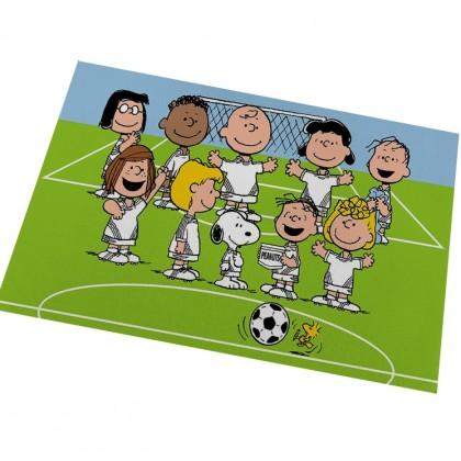 Peanuts Snoopy Soccer Floor Mat