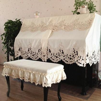 Elegant Piano Cover, Beige