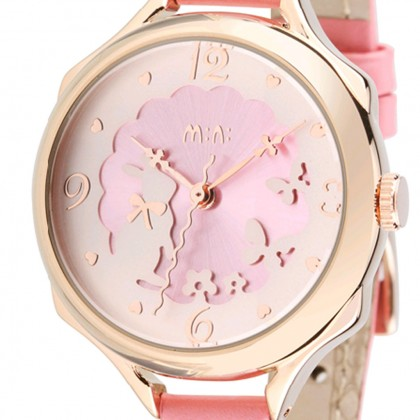 Bunny Rabbit Watch, Pink