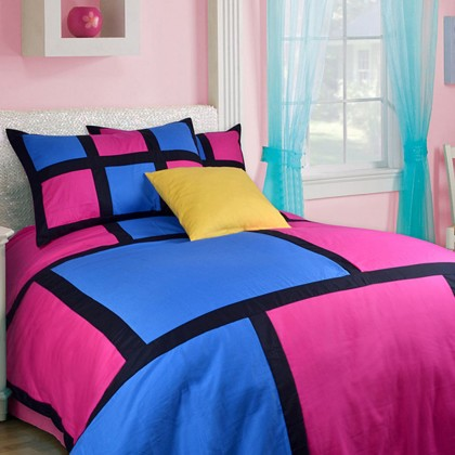 Retro Duvet Cover Set
