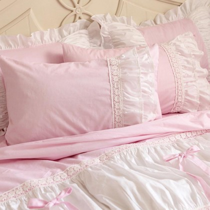 Sweet Candy Pink Duvet Cover Set