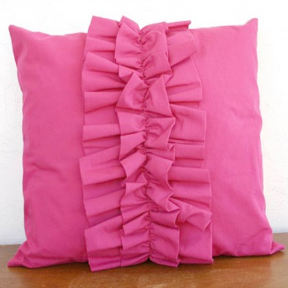 Lovely Chic Cushion Cover - Pink