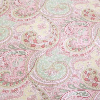 Pink Paisley Sheet Set