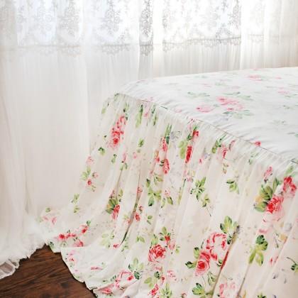 Rose Bed Skirt