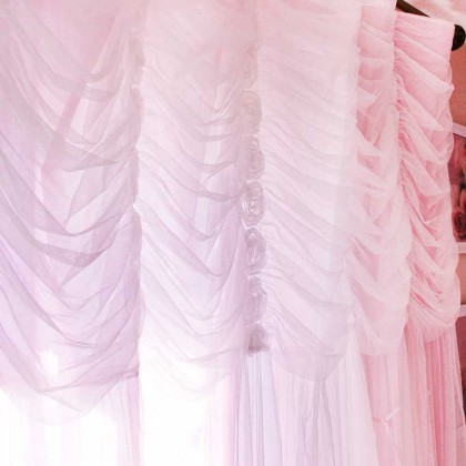 Princess Pink Curtain Panel