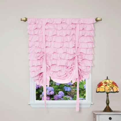 Princess Pink Tie Up Balloon Curtain