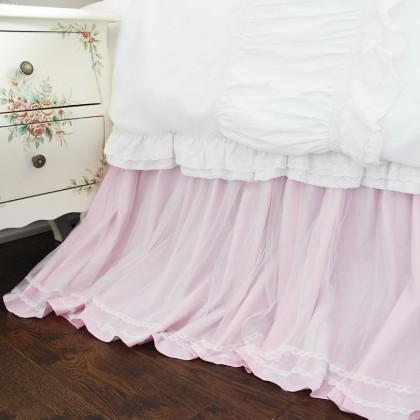 Princess Pink Bed Skirt