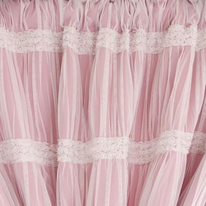 Romantic Blackout Panel Set, Pink