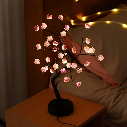 Plum Blossom Novelty Tree Light