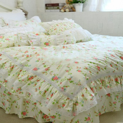 Princess Chic Floral Duvet Cover Set