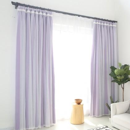 Simply Elegant Purple Blackout Panel