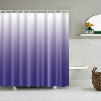 Purple Gradient Shower Curtain