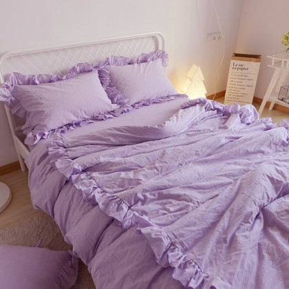 Princess Duvet Cover Set- Purple