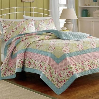 Floral Quilt Set