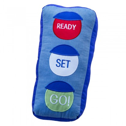 Ready Set Go Plush Cuddle Cushion Toy