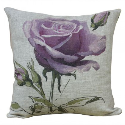 Radiant Rose Cushion Cover