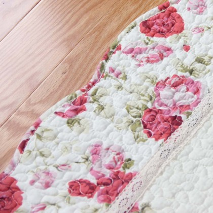Red Rose Quilt Mat