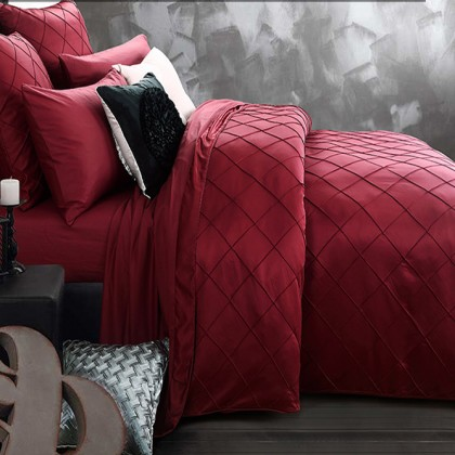 Royal Red Duvet Cover Set