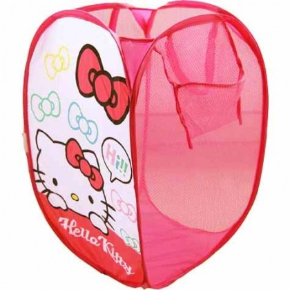 Hello Kitty Foldable Clothes Laundry Basket/Storage/Bag
