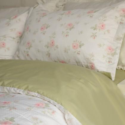 Subtle Rose Duvet Cover Set