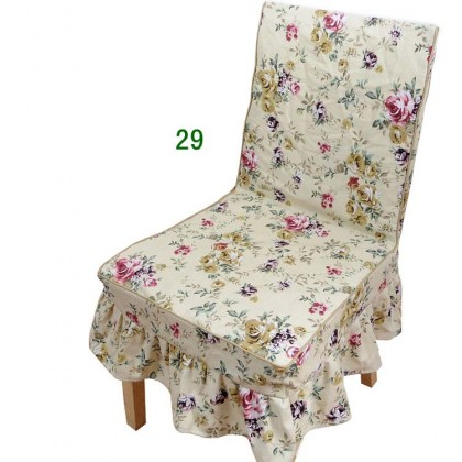 Country Rose Chair Cover