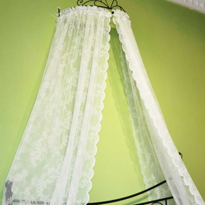 Dreamly Rose Bed Canopy Curtain