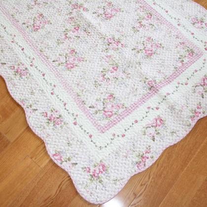 Shabby Pink Rose Mat