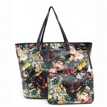 Floral Oil Painting Bags