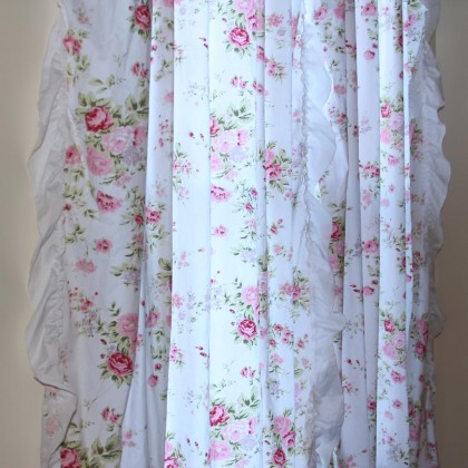Ruffle Chic Curtain Set