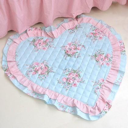 Adeline Blue Rose Mat