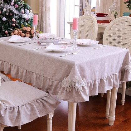 Farmhouse Shabby Chic Tablecloth