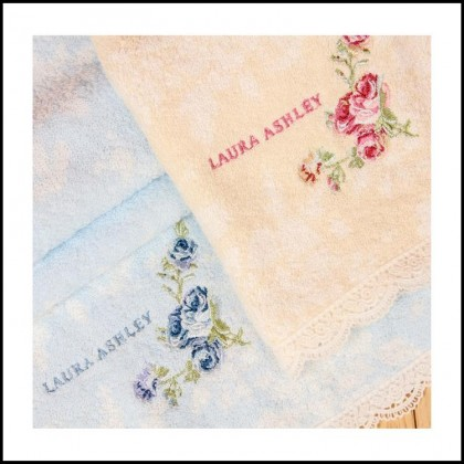 Romantic Laura Ashley Rose Towel