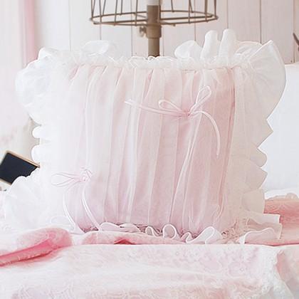 Frances Ruffle Ruch Cushion Cover