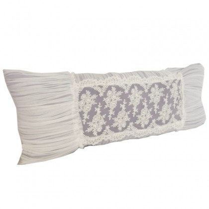 Luxury Lace Ruch Body Pillow Cover