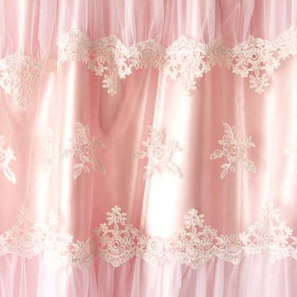 Pink Paris Dream Curtain Set