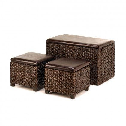 Rush Trunk & Ottomans