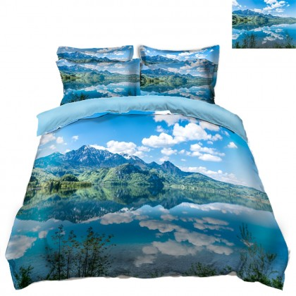 Lake Scenery Duvet Covet Set