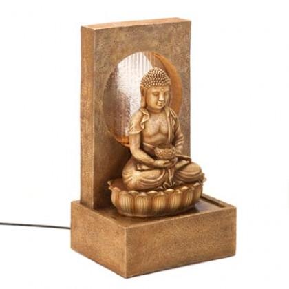 Serene Buddha Fountain